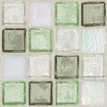 Daltile Egyptian Glass Peridot Fusion 12 in. x 12 in. x 6 mm Glass Face-Mounted Mosaic Wall Tile