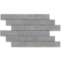 Daltile Concrete Connection Steel Structure 13 in. x 20 in. x 8 mm Porcelain Mosaic Floor and Wall Tile (8.8 sq. ft. / case)
