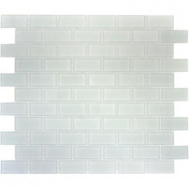 MS International Arctic Ice 12 in. x 12 in. x 8 mm Glass Mesh-Mounted Mosaic Tile