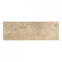 Daltile Canaletto Giallo 3 in. x 13 in. Porcelain Bullnose Floor and Wall Tile