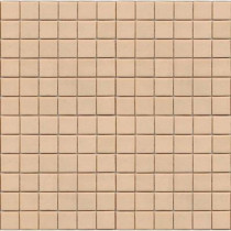 Epoch Architectural Surfaces Coffeez Latte-1101 Mosiac Recycled Glass Mesh Mounted Floor and Wall Tile - 3 in. x 3 in. Tile Sample