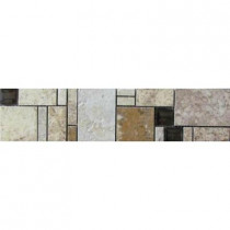 MARAZZI Emilia 3 in. x 12 in. Glazed Porcelain Listello Floor and Wall Tile