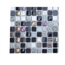 Splashback Tile Aztec Art Blackboard Glass Tile Sample