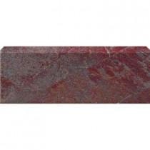 U.S. Ceramic Tile Stratford Copper 3 in. x 12 in. Glazed Ceramic Single Bullnose Floor & Wall Tile-DISCONTINUED