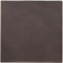 Weybridge 4 in. x 4 in. Cast Metal Field Tile Dark Oil Rubbed Bronze Tile (8 pieces / case) - Discontinued