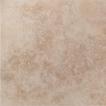 U.S. Ceramic Tile Tuscany Ivory 13 in. x 13 in. Glazed Porcelain Floor & Wall Tile-DISCONTINUED