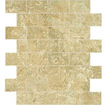 Daltile Fantesa Cameo 12 in. x 12 in. x 8 mm Glazed Porcelain Mosaic Wall Tile