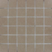 MS International Beton Olive 12 in. x 12 in. x 10 mm Porcelain Mesh-Mounted Mosaic Tile