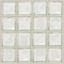 Daltile Egyptian Glass Isis 12 in. x 12 in. x 6 mm Glass Face-Mounted Mosaic Wall Tile