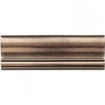 Weybridge 2 in. x 6 in. Cast Metal Ogee Classic Bronze Tile (10 pieces / case) - Discontinued