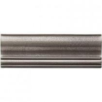 Weybridge 2 in. x 6 in. Cast Metal Ogee Brushed Nickel Tile (10 pieces / case) - Discontinued