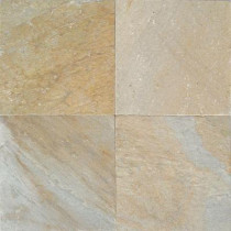 Daltile Natural Stone Collection Golden Sun 12 in. x 12 in. Slate Floor and Wall Tile (10 sq. ft. / case)