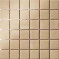 Elementz 12.5 in. x 12.5 in. Capri Beige Grip Glass Tile-DISCONTINUED
