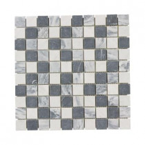 Jeffrey Court Carrara Mix 12 in. x 12 in. x 8 mm Marble Mosaic Floor/Wall Tile