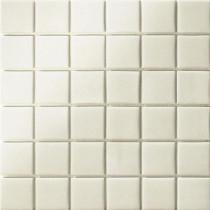 Elementz 12.5 in. x 12.5 in. Capri Bianco Grip Glass Tile-DISCONTINUED