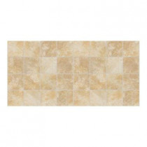 Daltile Continental Slate Persian Gold 12 in. x 24 in. x 6mm Porcelain Mosaic Floor and Wall Tile (22 sq. ft./case)-DISCONTINUED