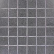 MS International Beton Graphite 12 in. x 12 in. x 10 mm Porcelain Mesh-mounted Mosaic Tile