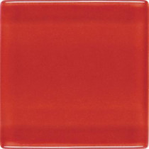 Daltile Isis Candy Apple Red 12 in. x 12 in. x 3 mm Glass Mesh-Mounted Mosaic Wall Tile
