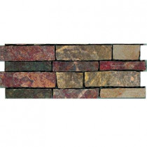 U.S. Ceramic Tile Stratford 12 in. x 4 in. Multicolor Porcelain Border Floor and Wall Tile-DISCONTINUED