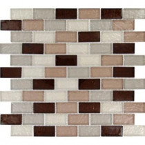 MS International Ayres Blend 12 in. x 12 in. x 8 mm Glass Mesh-Mounted Mosaic Tile