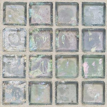 Daltile Egyptian Glass Aquamarine 12 in. x 12 in. x 6 mm Glass Face-Mounted Mosaic Wall Tile