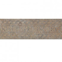 U.S. Ceramic Tile Craterlake Petra 6 in. x 18 in. Glazed Porcelain Border Floor and Wall Tile-DISCONTINUED