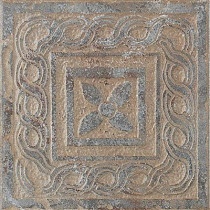 U.S. Ceramic Tile Craterlake Petra 6 in. x 6 in. Glazed Porcelain Insert Corner Floor & Wall Tile-DISCONTINUED