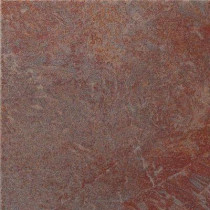 U.S. Ceramic Tile Stratford Copper 18 in. x 18 in. Glazed Porcelain Floor & Wall Tile-DISCONTINUED