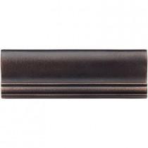 Weybridge 2 in. x 6 in. Cast Metal Ogee Dark Oil Rubbed Bronze Tile (10 pieces / case) - Discontinued