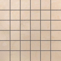 U.S. Ceramic Tile Murano Beige 12 in. x 12 in. Glazed Porcelain Mosaic Floor & Wall Tile-DISCONTINUED