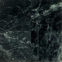 Daltile Natural Stone Collection Empress Green 12 in. x 12 in. Polished Marble Floor and Wall Tile (10 sq. ft. / case)
