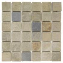 Jeffrey Court Sequoia 12 in. x 12 in. x 8 mm Slate Mosaic Wall Tile