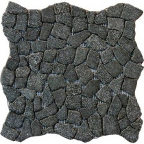MS International Charcoal Flat Pebbles 16 in. x 16 in. x 10 mm Tumbled Granite Floor and Wall Tile (12.46 sq. ft. / case)